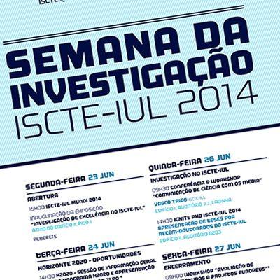 semana-investiacion-ISCTE-2013-2014
