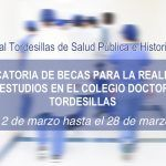 Acta de la resolución definitiva del Concurso de Becas convocadas por el Colegio Doctoral Tordesillas de Salud Pública e Historia de la Ciencia