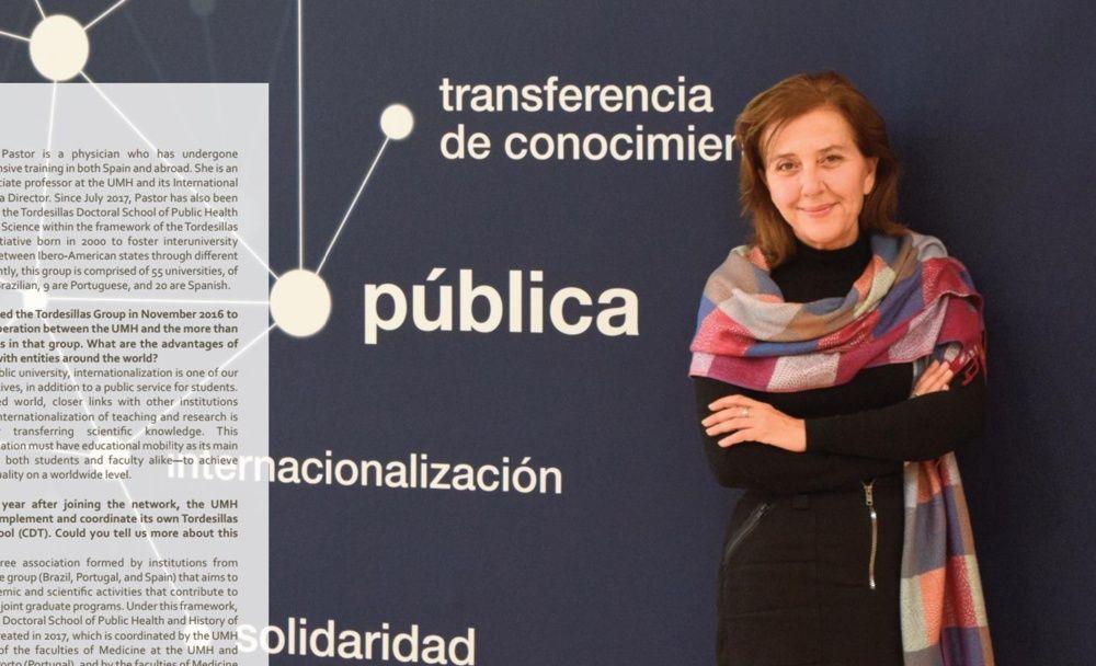 Entrevista a María Pastor, coordinadora del CDT de la UMH