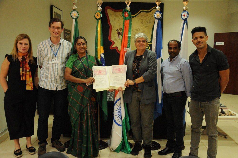 UFMT firma parceria com Universidade Médica da Índia
