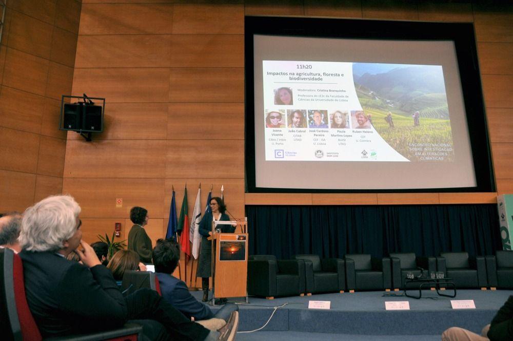 Investigadores UTAD no Encontro Nacional sobre Investigação em Alterações Climáticas
