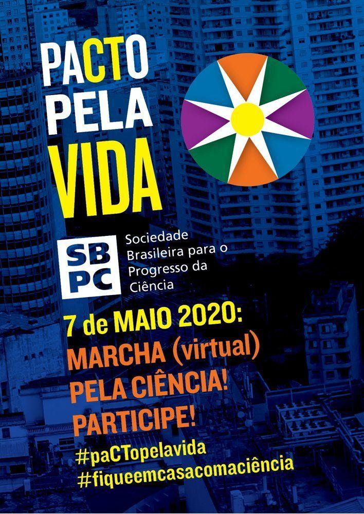UNIRIO convoca para Marcha Virtual pela Ciência no Brasil