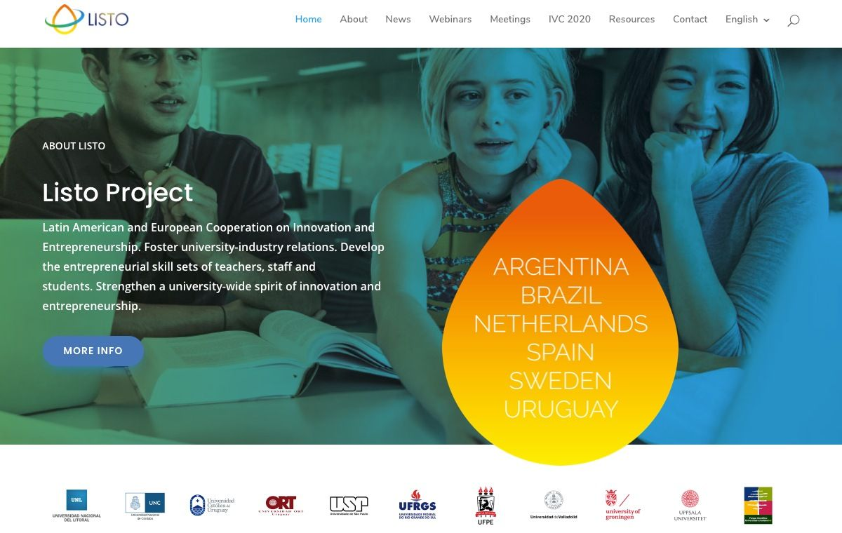 Latin American and European Cooperation on Innovation and Entrepreneurship Presentation of Results – Dissemination Webinars