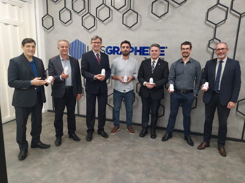 Firmada parceria para desenvolvimento de projetos e comercialização de grafeno  - UCS