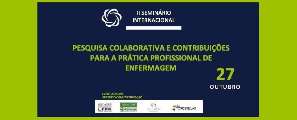II Seminário de Pesquisa Internacional Colaborativa Brasil-Espanha-Portugal