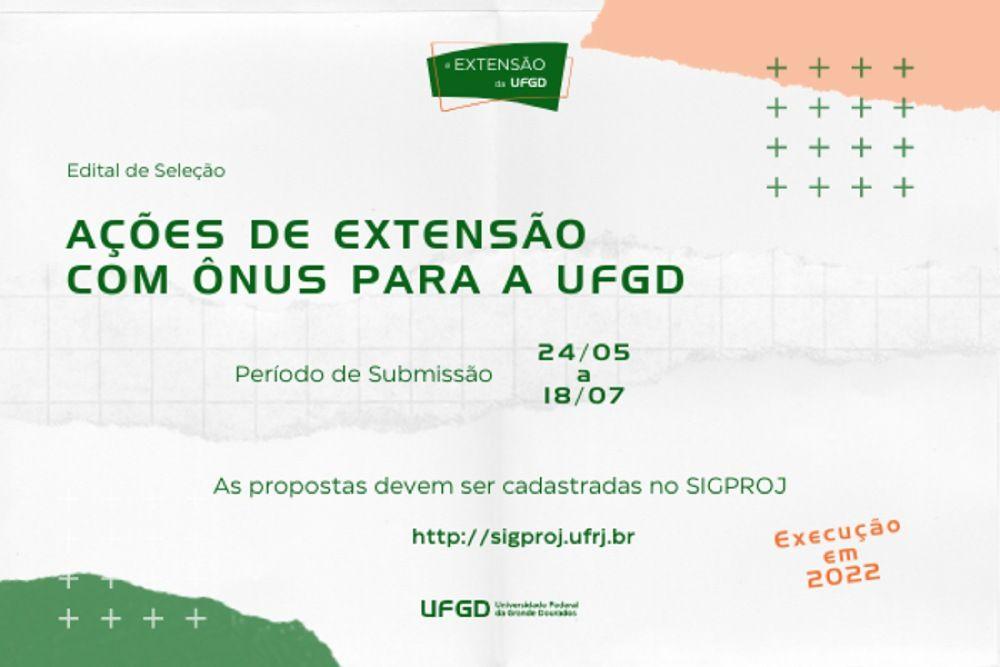 UFGD investirá R$ 302 mil nas ações de extensão de 2022